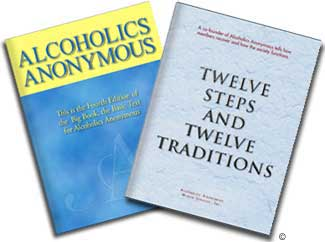 The Big Book and Twelve Steps and Twelve Traditions may be accessed online.