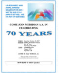 70th Year Celebration - Meridian Groups @ Jubilee Mennonite Church | Meridian | Mississippi | United States