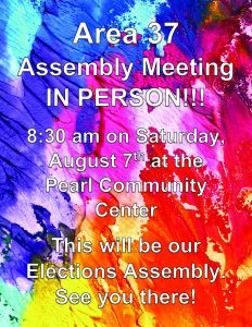 August Area Assembly 2021 @ Pearl Community Center | Pearl | Mississippi | United States