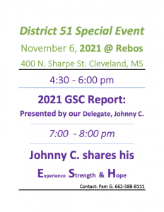 District 51 Special Event @ Rebos | Cleveland | Mississippi | United States